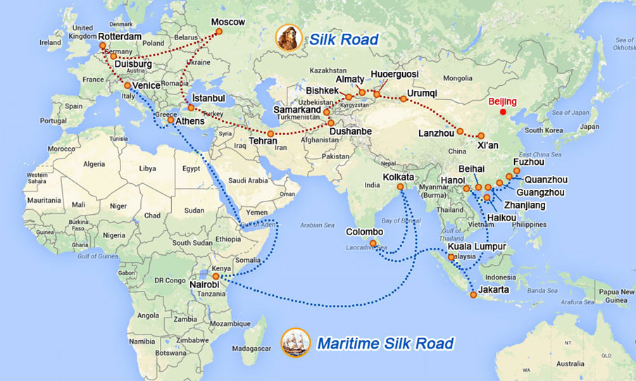 The 'One Belt, One Road' project