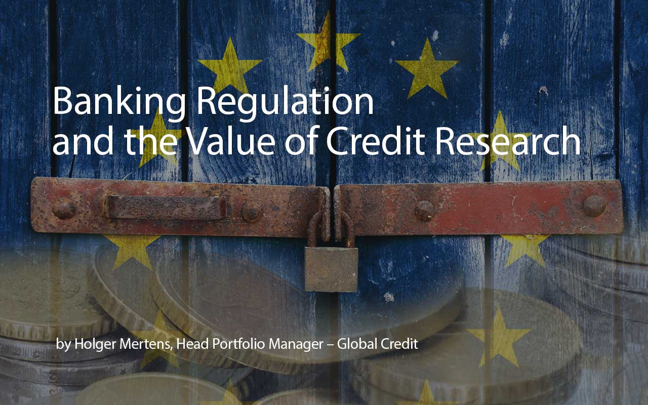 Banking Regulation and the Value of Credit Research